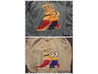 2 minion jumpers as new 11-12