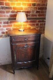 Antique Oak cabinet/side table