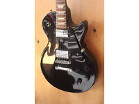 Gibson Les Paul in Ebony & Chrome with FREE flight case - RRP £1199.00