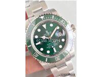 Rolex submariner 40mm hulk green luxury automatic diver watch new in Swiss wave box N 00 B