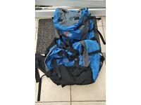 Lowe Alpine 60 + 10 hyperlite contour rucksack