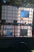 AAA1+ 1000 litre IBC Water/Liquid Storage Tanks/Containers Ingleburn Campbelltown Area Preview