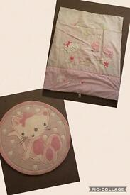 Next Chloe Cat Bedding and Rug