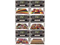 Bright modern cheap rugs