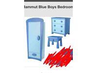 Kids blue ikea bedroom furniture