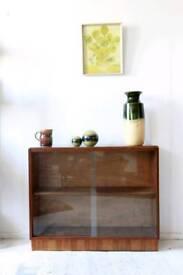 retro book cabinet 1970's