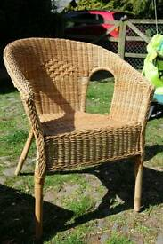 Ikea faux wicker chair