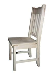 Mennonites Handcrafted Solid Wood Dining Chairs - FREE SHIPPING