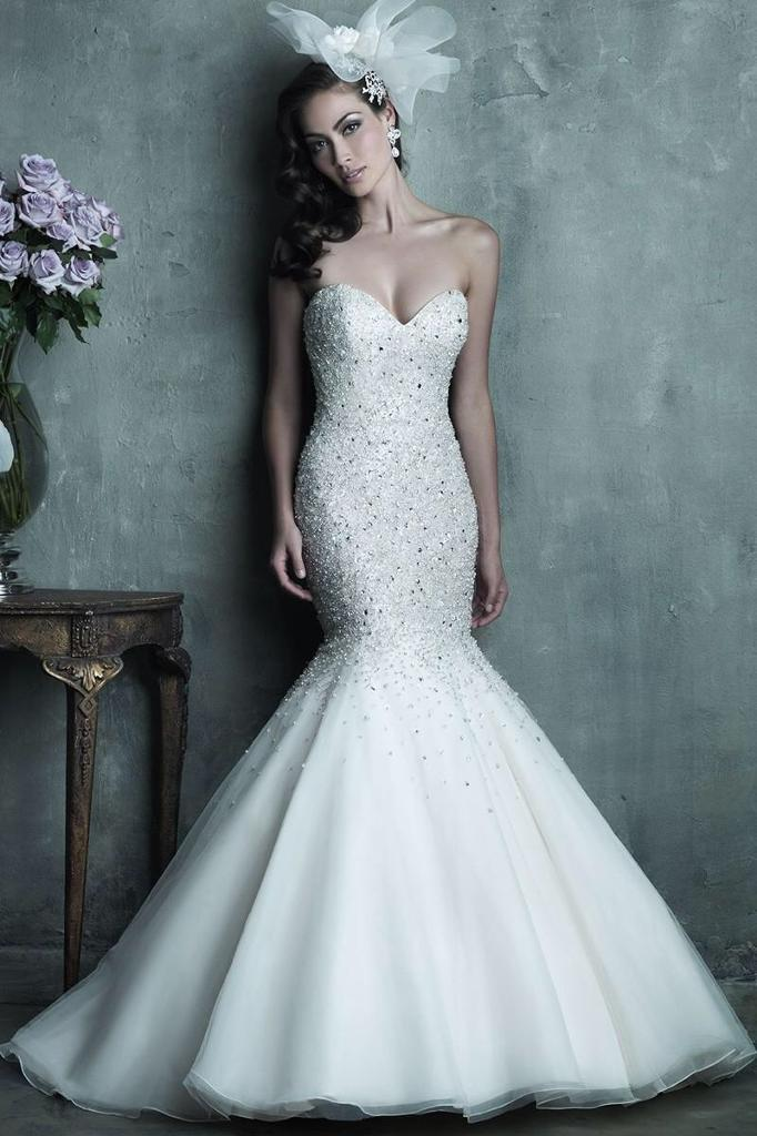 Mori Lee Mermaid Fishtail Wedding Dress | in Springburn, Glasgow ...