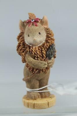 Tails With Heart 'Cowardly Lion Mouse' Wizard Of Oz Mini Figurine #6003613 NEW