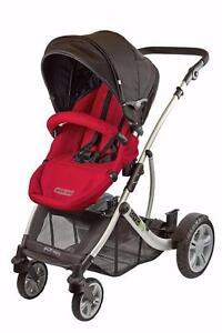 Guzzie+Guss G+G 1+1 Gabriola Stroller (Red) NEW