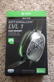 Xbox one afterglow lvl 1 chat headset