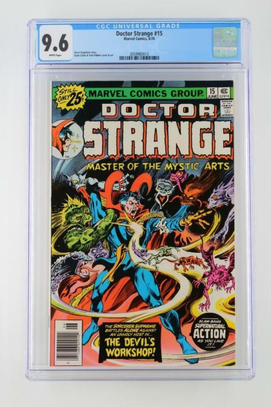 Doctor Strange #15 -NEAR MINT- CGC 9.6 NM+ MARVEL 1976!