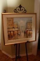 Tableau à l'huile Daniel Thompson