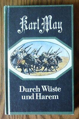 Durch Wüste und Harem – Karl May DDR Abenteuerbuch Verlag Neues Leben mit Inhalt