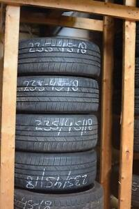 235 45 18 For sale Goodyear set.