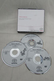 Toyota Navigation System DVD- Europe
