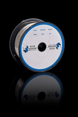 309lfc-o .035 Mig Stainless Steel Welding Wire 1 Lb Spool Blue Demon