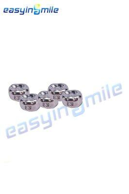 1 Box Easyinsmile Dental Kids Upper Molar Left Crown Stainless Steel Temporary