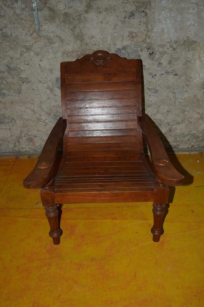 Colonial Plantation Teak Chair | in North Berwick, East ...