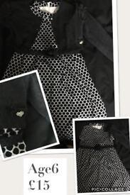Mayoral dress & cardigan 6y