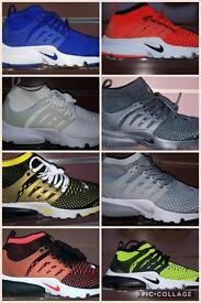New Nike high top presto