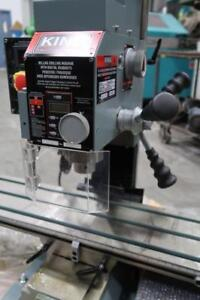 "KING INDUSTRIAL 3/4"" Milling & Drilling Machine With Digital Readout"