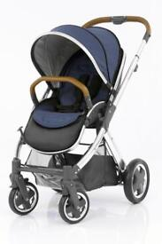 Oyster 2 pushchair with Oxford Blue pack