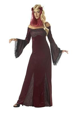 Medieval Renaissance Faire Princess Bell Sleeves Middle Ages Teen Queen - Teen Belle Costume