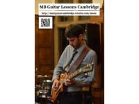 Professional guitar lessons