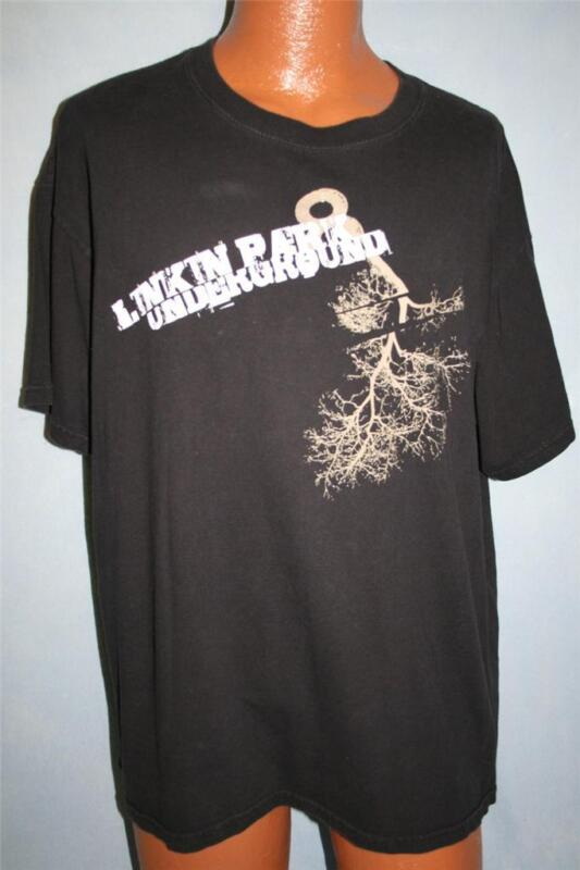 LINKIN PARK 2008 Underground 8 T-SHIRT XL Hip Hop Rock
