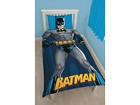 Batman dc comic single duvet set pillowcase