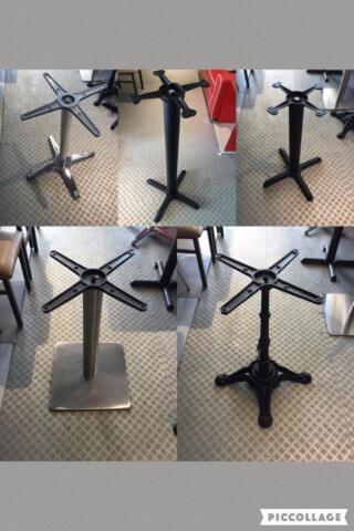Chaises tables banquettes base de table de for Chaise bercante kijiji
