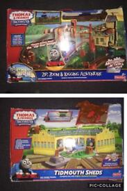 Thomas & friends trackmaster bundle £30 each or both for £55 ONO