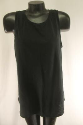 Athleta Womens XLT Black Asana Muscle Tank Top Shirt Very NICE! Yoga