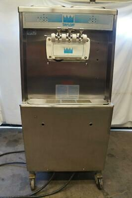 Taylor Commercial 1 Or 3 Flavor Twist Soft Serve Ice Cream Machine Model 754-33