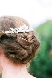 Jon richards bridal hairpiece
