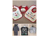 Halloween T-shirt, Christmas Clothing, Christmas Stockings and Christmas Napkins