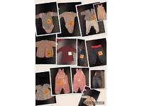 used clothes for girls 3-6 mths, very good condition