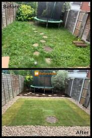Gardeners landscapers clearance artificial grass turf paving patio Dartford london Gravesend Wrotham