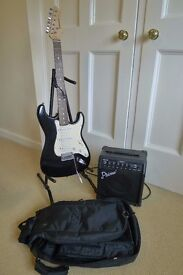 Electric Guitar With Amp - Perfect for Beginners