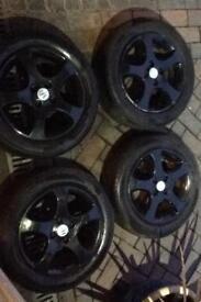 Suzuki swift gl model alloy wheels £80