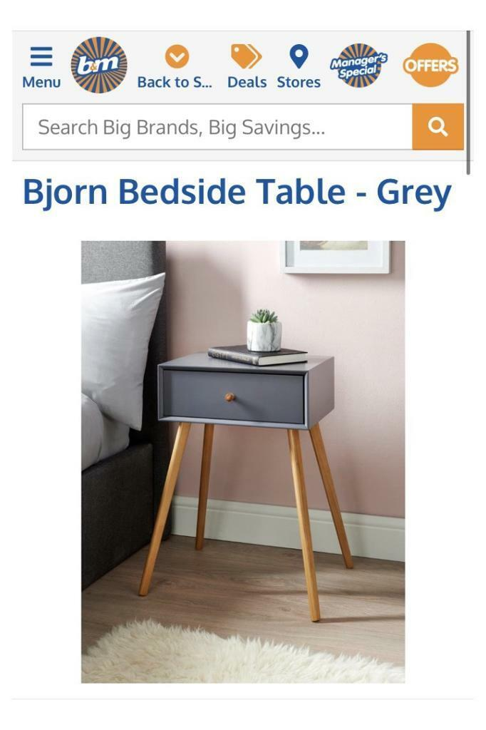 Picture of: 1 Drawer Bedside Table In Sheffield South Yorkshire Gumtree
