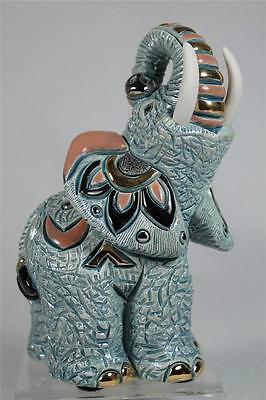De Rosa Rinconada Family Collection 'Samburu Elephant' Trunk Up #F174 New In Box