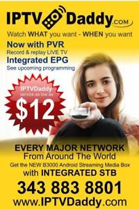 Over 3000 LIVE NETWORKS - No Credit checks or contracts - Watch WHAT YOU WANT, When YOU WANT! Movies, TV Shows, Sports..