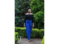 African Print trousers & Bell sleeve top