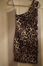 Short Leopard Skin Dress