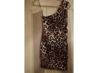 Short Leopard Skin Dress