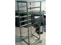 Commercial kitchen trolley