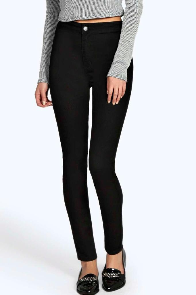 BNWT black high waisted jeans sizes 6-16